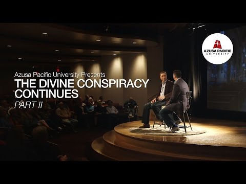 THE DIVINE CONSPIRACY COLLECTION, Part 2: A Conversation on Business