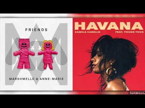 HAVANA x FRIENDS | Mashup of Camila Cabello/Marshmello/Anne-Marie