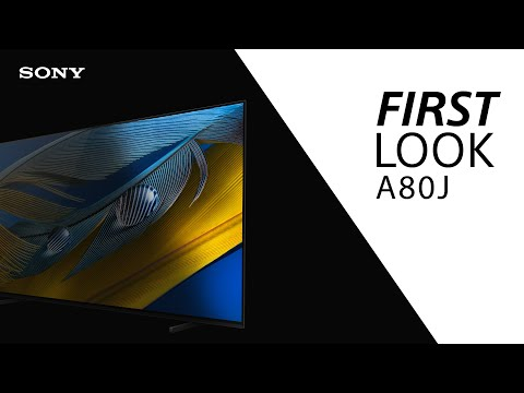 FIRST LOOK: Sony A80J BRAVIA XR TV