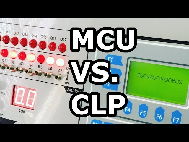 DIFERENÇAS ENTRE MICROCONTROLADORES E CLPs