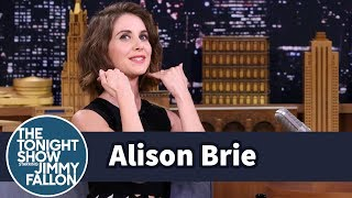 Alison Brie Resurrected Her Childhood Perm for GLOW