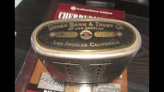 UNLOCK A VINTAGE COIN SAFE WITH ME.  SEE WHAT'S INSIDE.