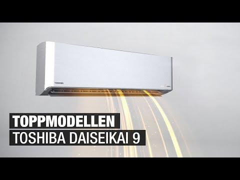 Toshiba Daiseikai 9 luft-luft varmepumpe - Best på innovasjon