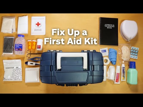Fix Up a First Aid Kit   Allstate Insurance