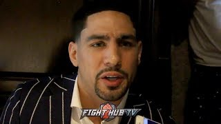 "DANNY GARCIA REACTS TO ERROL SPENCE CALLING OUT MANNY PACQUIAO ""HE WANTS TO STAY ON PPV"""