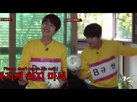 Kyuhyun The Ball Bouncing MVP (Eng/Esp)