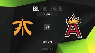 Fnatic vs Aristocracy - ESL Pro League Season 9 EU - map2 - de_mirage [gr0mjkeee & ceh9]