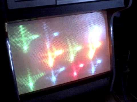 Montgomery Wards Airline Stereo Console Disco Lights Youtube