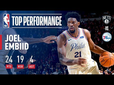 Joel Embiid Comes Up BIG For The W On His Birthday!