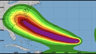 Live Coverage Now - Hurricane Florence - Ominous Track Possibilities