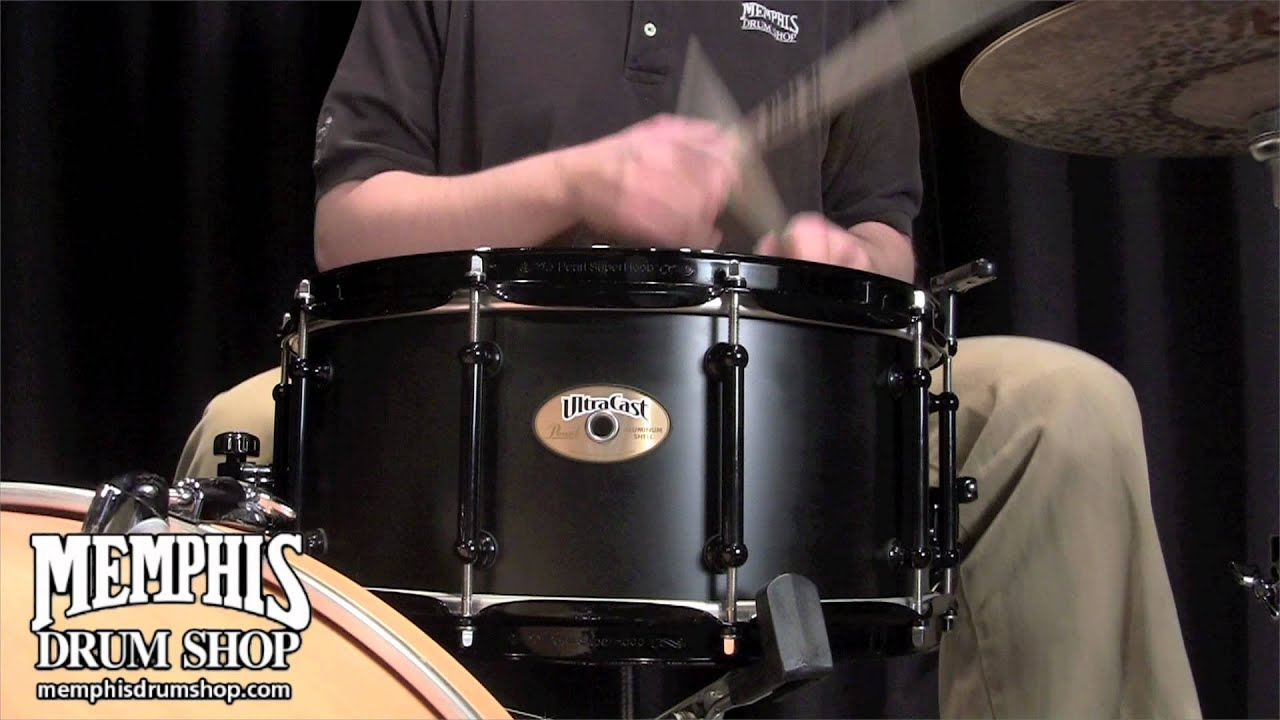 pearl 14 x 6 5 ultracast aluminum snare drum youtube. Black Bedroom Furniture Sets. Home Design Ideas
