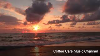 The Best Relaxing Hawaiian Beach Cafe Music 4