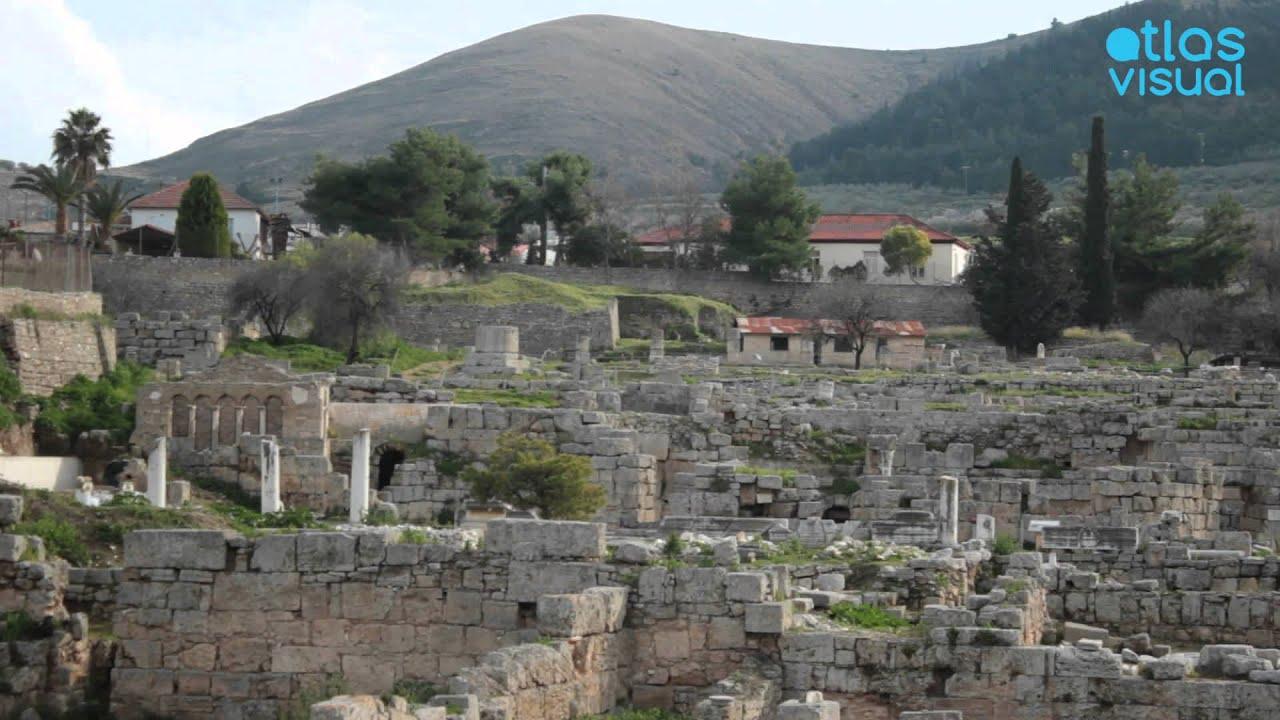 Ancient Korinthos Peloponnese