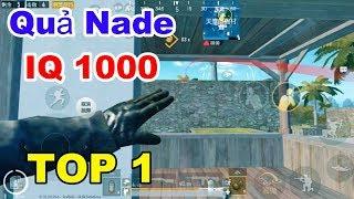 #57 Quả lựu đạn IQ 1000 và TOP 1 nhẹ nhàng | PUBG Mobile