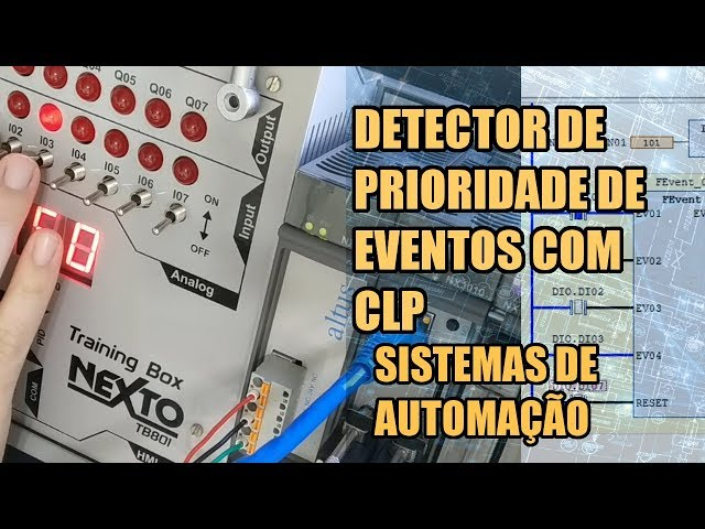 DETECTOR DE PRIORIDADE DE EVENTOS COM CLP NEXTO | Sistemas de Automação #011