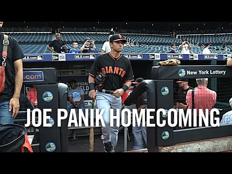 Joe Panik Homecoming 2015