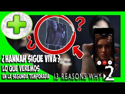 ¿Hannah esta viva? 5 Teorías de la segunda temporada de 13 reasons why - PLUS #16 | Popcorn News