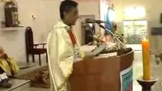 Tamil Holy Sermon at St Judes Shrine, Tirunelveli (Catholic Mass)
