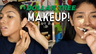 FULL FACE DOLLAR TREE MAKEUP!