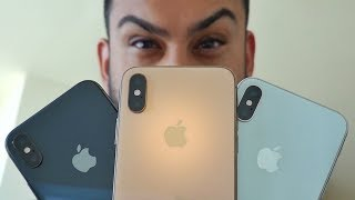 iPhone Xs: Gold vs Space Gray vs Silver