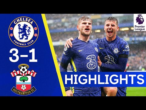 Chelsea 3-1 Southampton | Werner Shines As Blues Move Top Of The Table | Premier League Highlights
