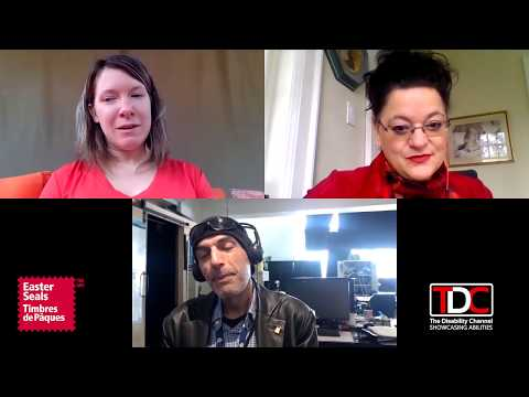 , TDC – Reporter Jay Stoyan interviews Easter Seals Canada and the Kids Art Contest, Wheelchair Accessible Homes
