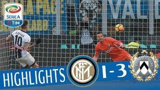Inter - Udinese 1-3 - Highlights - Giornata 17 - Serie A TIM 2017/18