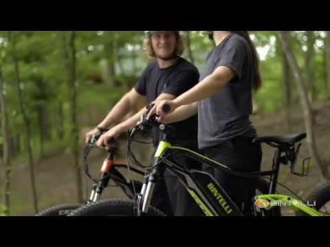 Bintelli Quest Electric Bicycle For Sale - Adventure Mountain Bike with Suspension
