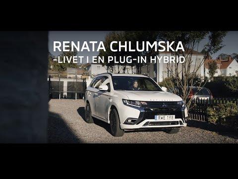 Livet i en Mitsubishi OUTLANDER PLUG-IN HYBRID med Renata Chlumska: Förberedelse