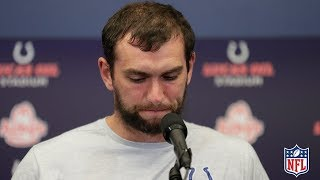 Andrew Luck's FULL Retirement Press Conference | NFL News