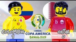 LEGO Copa America 2019 COLOMBIA Vs QATAR