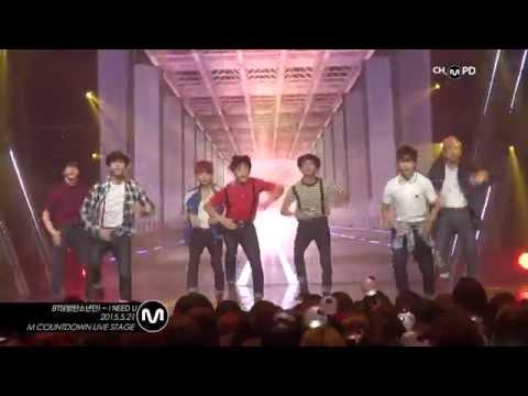 [MPD직캠] 방탄소년단 직캠 I NEED U BTS Fancam Mnet MCOUNTDOWN 150521