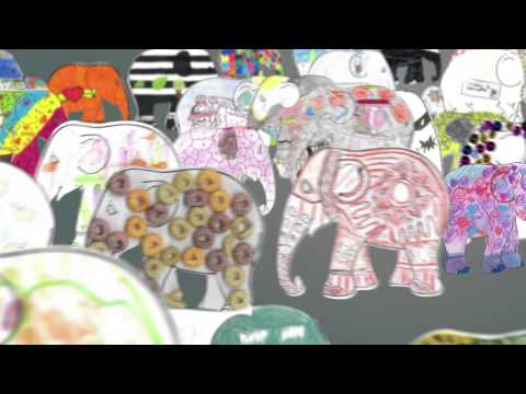 Elephant parade UK tour: the designs