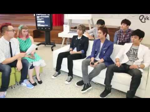Thunder speaks Tagalog @ Eat Your Kimchi's Interview w/ MBLAQ