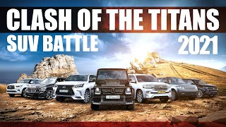 SUV Battle 2021: Clash of the Titans | Land Cruiser, GLS 450, LX 570, QX80, Range Rover, BMW X7, G63