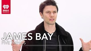 """James Bay Gives You The Inside Scoop On """"Wild Love""""   Five Things"""