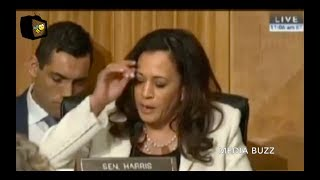 Kamala Harris Almost Has A NERVOUS BREAKDOWN While Grilling John Kelly