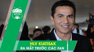 LIVESTREAM: HLV Kiatisak - Màn ra mắt chính thức trước người hâm mộ bóng đá Việt Nam | HAGL Media