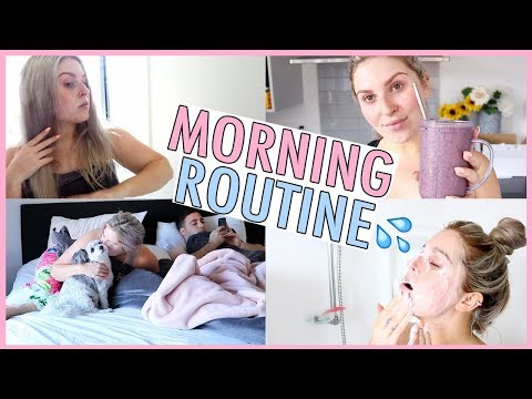 MORNING ROUTINE ? Gym, Smoothies & Shower With Me!
