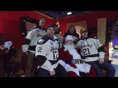 PSECU Presents: Behind The Glass with the Hershey Bears at Children's Hospital and Hersheypark