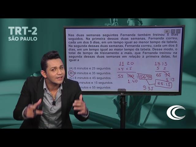 [CORREÇÃO PROVA TRT-2 | RACIOCÍNIO LÓGICO | Prof Roberto Eugênio]