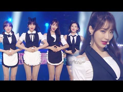 《UNIT》 9MUSES A (나인뮤지스A) - Lip 2 Lip (입술에 입술) @인기가요 Inkigayo 20160904