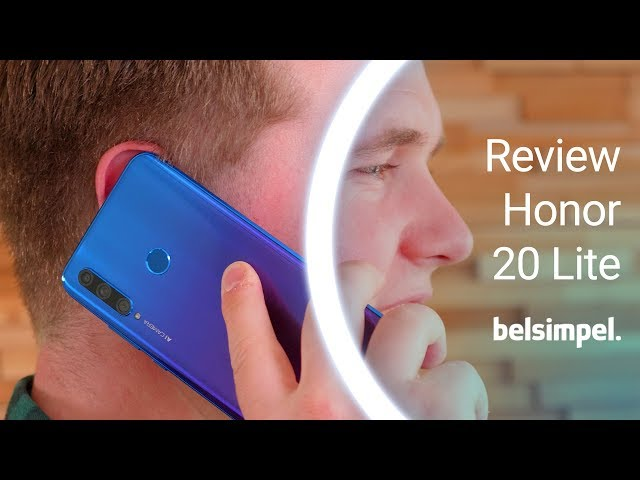 Belsimpel-productvideo voor de Honor 20 Lite Black