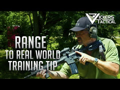 BCM Training Tip - From the Range to the Real World