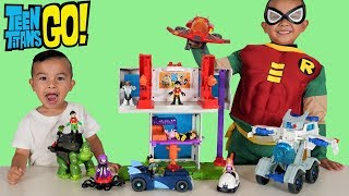 BIGGEST TEEN TITANS GO Toys Collection Unboxing Fun With CKN Toys