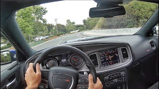 2020 Dodge Charger 392 Scat Pack Widebody POV Test Drive (3D Audio)(ASMR)