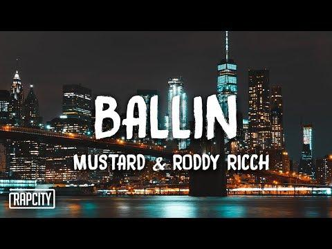 Mustard - Ballin ft. Roddy Ricch (Lyrics)
