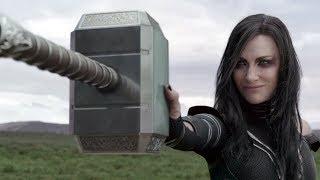 Thor Ragnarok: Hela Destroys Thor's Hammer - New Movie Clip
