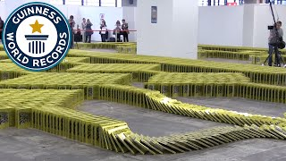 Book Dominoes - Guinness World Records