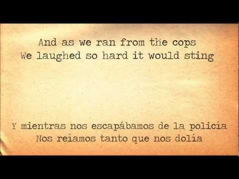 Disenchanted - My Chemical Romance lyrics (Inglés - Español)